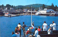 Coming into the Weirs on the MS MT Washington 1980
